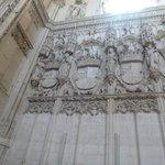Exemplar do estilo gótico tardio.