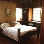 Bedroom area at Casa Amancer