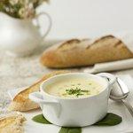 Seasonal soups prepared fresh daily