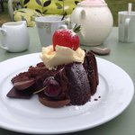 Chocolate cake....it beat me
