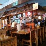 The bar area & tables.