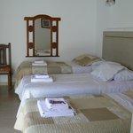 Habitación Triple con camas individuales