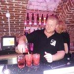 Préparation des cocktails