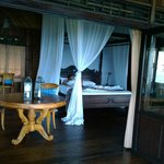 View of room during morning