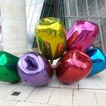 Les tulipes de Jeff Koons!! Magnifique