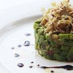 asparagus and avocado taretar