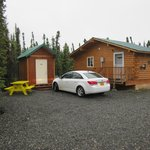 Our cabin for the night