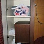 The wardrobe!
