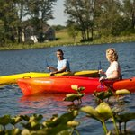 Complimentary Kayaks for guests at Castle in the Country