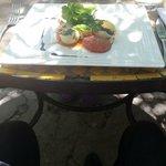 conchiglionnis farcis aux blettes et caviar d'aubergines