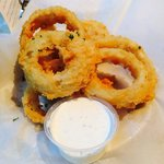 Onion rings $2.00 loved them