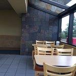 I like the window seating