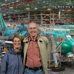 """Free photo """"photo shopped"""" by Boeing to make it look like we were in the plant when it was taken"""