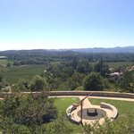 A view from Palmaz Winery