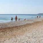 Прекрасный пляж и море