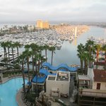 View of Marina from room in Marina Tower