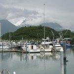 The Valdez harbor
