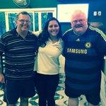 Keith and Paul with Joana Alves