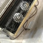 the wires at the back of the heater in the suite were exposed