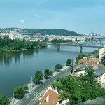 Prague Castle from Vysehrad