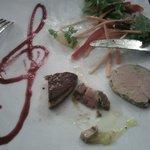 3 foies gras