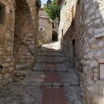 Ruas e casas de pedra