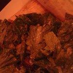 Spicy Chicken Wrap /w/ Salad