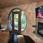 Secluded Patio Door