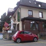 Celerina - Hotel-Restaurant Cresta-Run - view