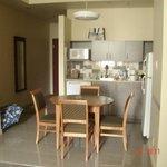 Cozinha completa e prática