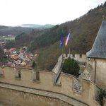 Vista no castelo