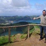 """Me at """"Lagoa do Canário"""" viewpoint"""