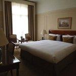 Comfy roomy bedroom in jr suite