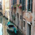 A quiet Venice waterway