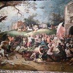Uma das várias tapeçarias que o visitante poderá apreciar no museu.