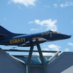 US Navy Blue Angel of yesteryear