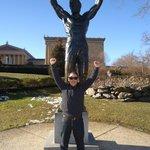 Estátua Rocky