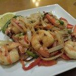 Jumbo shrimp Chow Mein