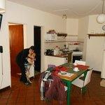 Vista de la cocina comedor