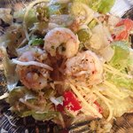 1905 salad with shrimp