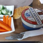 Yum! Baked camembert ��