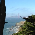 From Lands End path