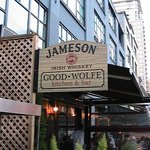GoodWolfe sign on side