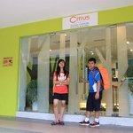 Pintu Masuk Citrus Hotel
