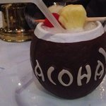 Chi Chi Drink in Coconut Cup