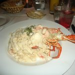 lobster fettuccine