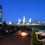 Vista de Manhattan anocheciendo 2