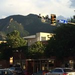 View of Mountains from Pearl Street
