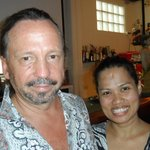 The hosts & owners of Kokosnuss - Thomas & Thanida