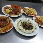 The chicken Arabic style Meal